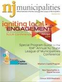 November 2019 NJ Municipalities magazine cover
