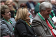 Attendees laugh at the Humor in Government Session