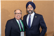 NJLM President, Mayor James Cassella, with NJ Attorney General Grewal