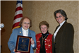 Mayor Maxine Hirsch receives Outstanding Women in Government Award 2006