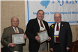 Mayors Lawrence Chiaravallo and Thomas J. Byrne, III, receive Certificates of Appreciation from NJLM