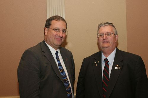 Mayors Carl W. Block and Ronald S. Dobies join Gold Level Mayors' Hall of Fame