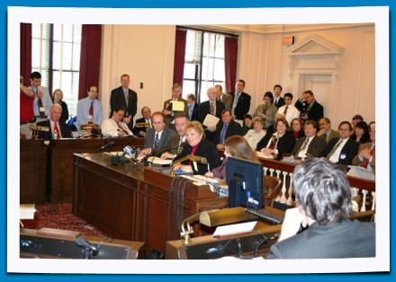 League Members Testify Before the Assembly State Government Committee
