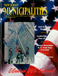 New Jersey Municipalities Magazine Cover