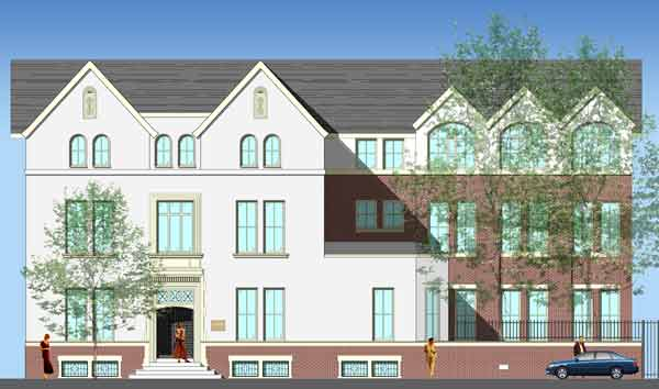 Front of Building - Proposed Sketch