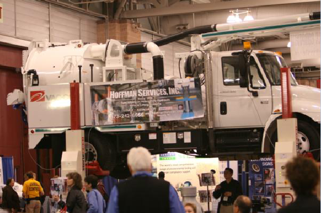 Hoffman Services, Inc. Booth and Truck