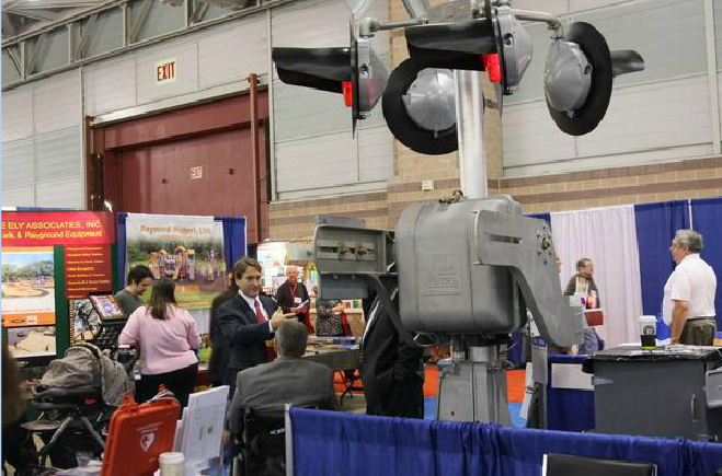 Mechanical Equipment at Booth