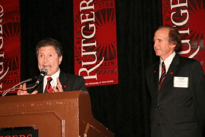 Rutgers University Banners and Speakers