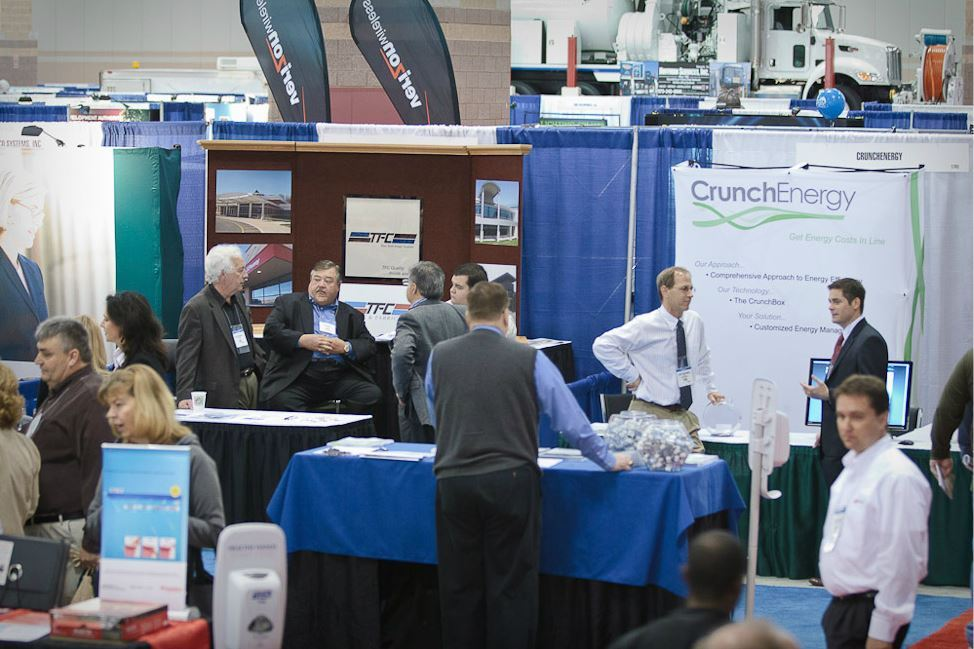 TFC and CrunchEnergy Exhibit Booths