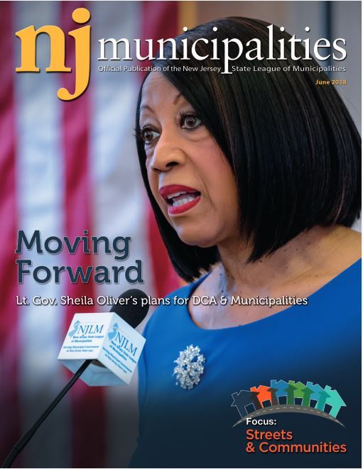 June 2018 NJ Municipalities magazine cover