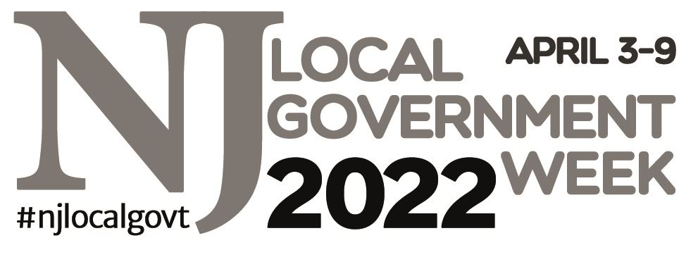NJ Local Government Week black and white logo version 2