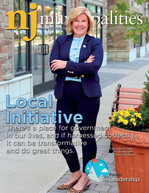 January 2019 NJ Municipalities magazine cover