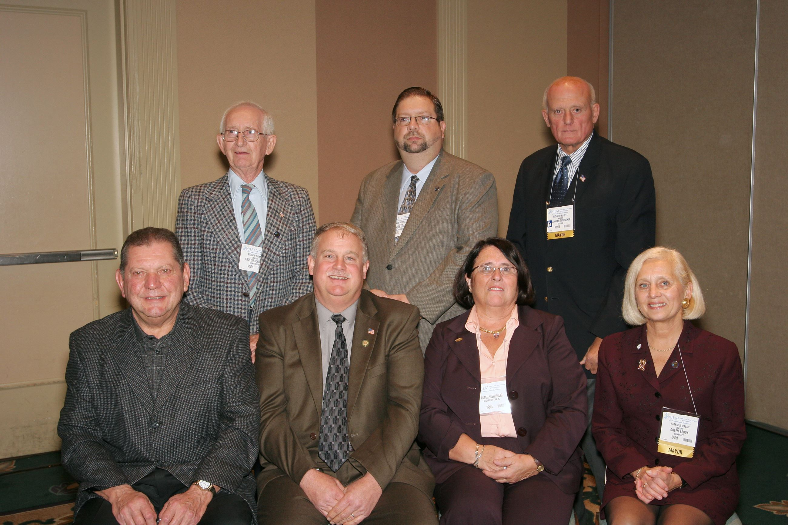 2006 NJLM Mayors' Hall of Fame Silver Level Inductees