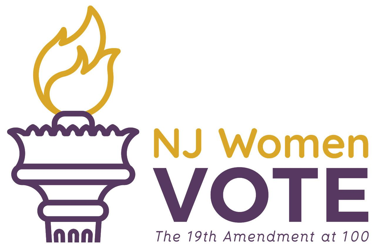 Torch logo for NJ Women Vote