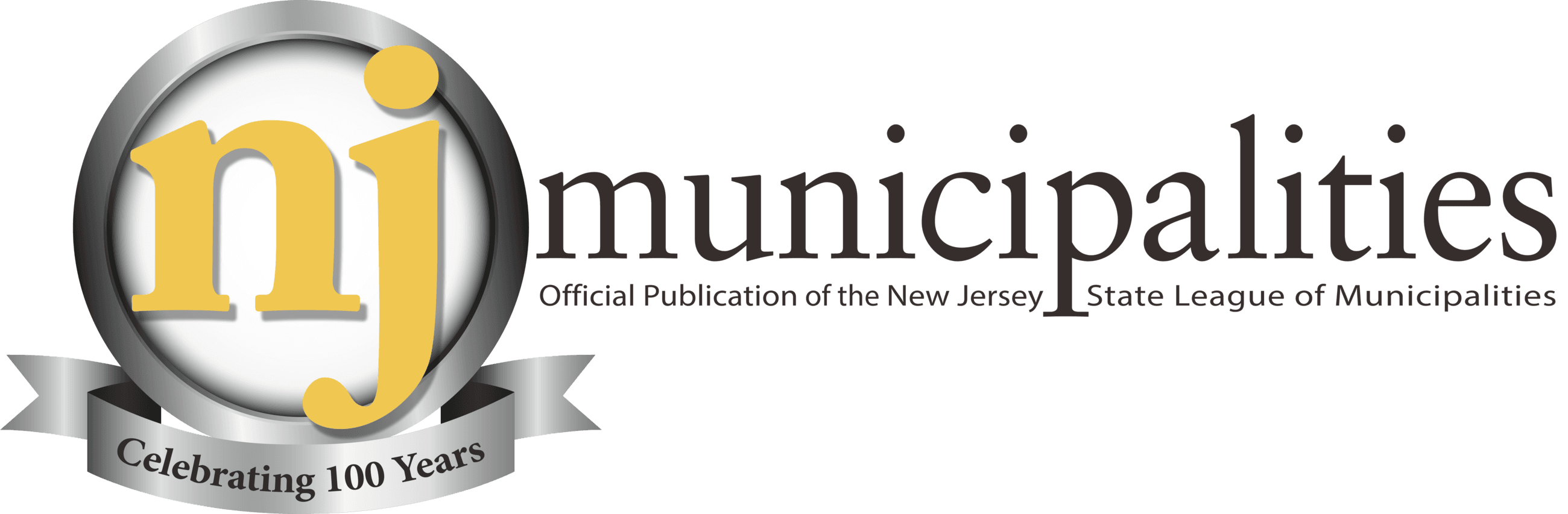 NJ Municipalities 100 Logo