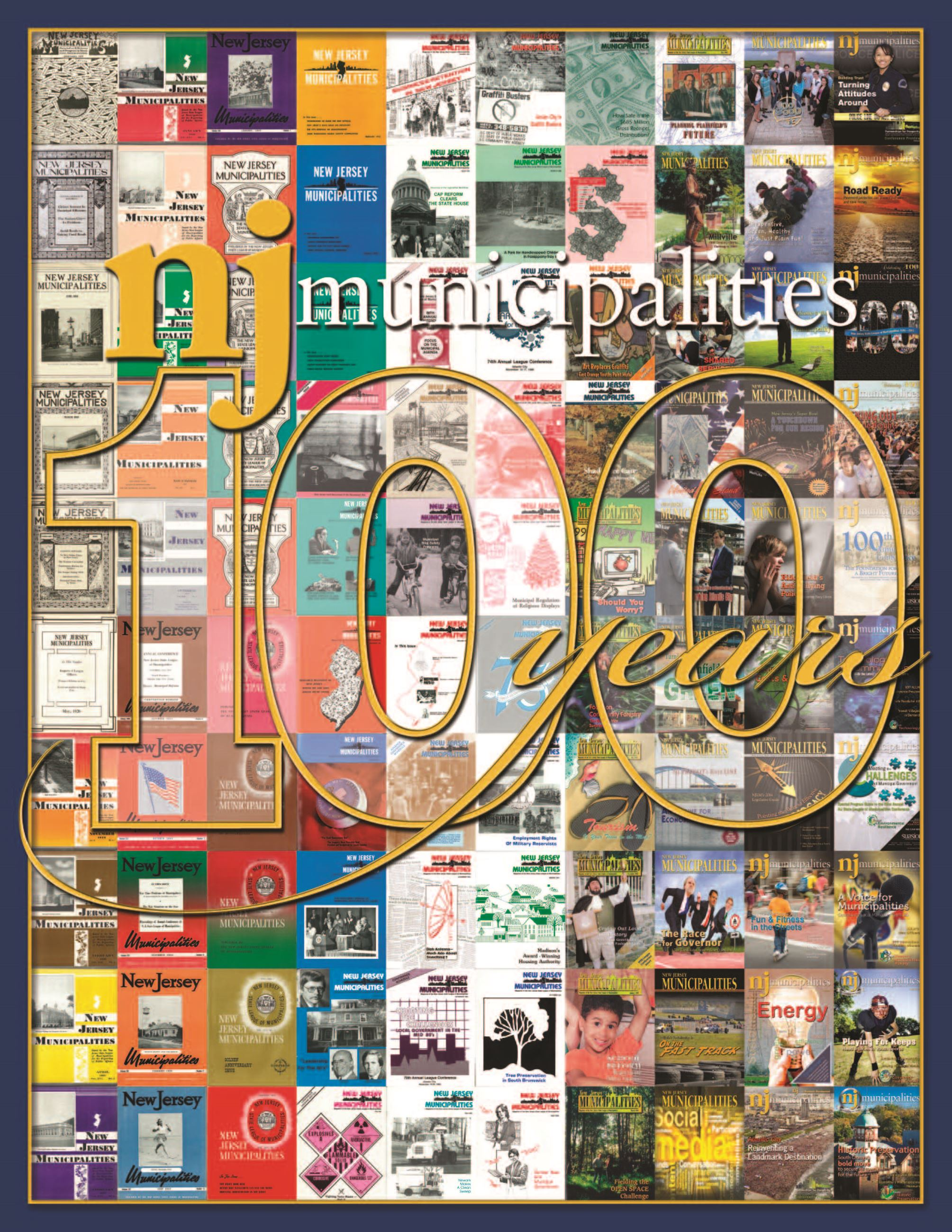 NJ Municipalities 100 Years Commemoration